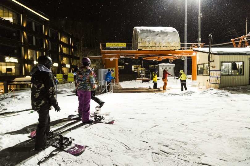 Grand Hirafu night skiing
