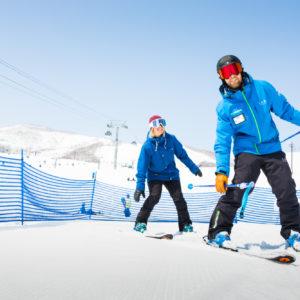 Go Snow Private Lessons Tareesa Chris 27