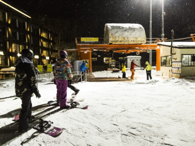 Grand Hirafu night skiing