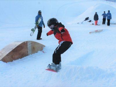 Yama Riders Snowboarder